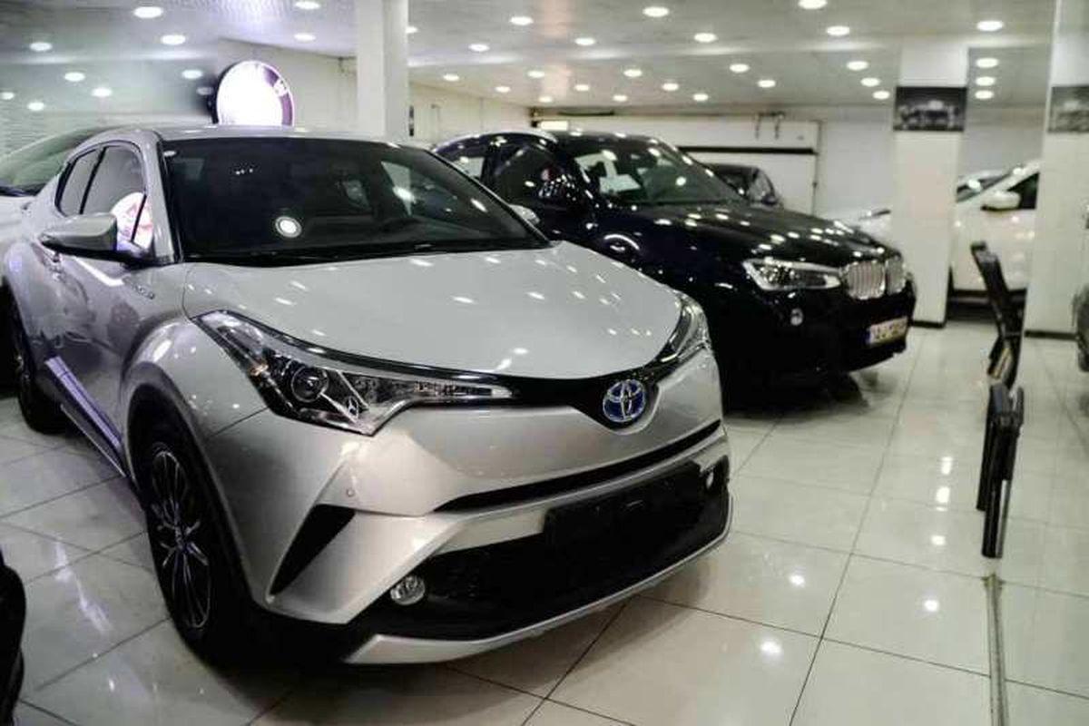 ریزش ۵۰۰ میلیون تا ۲میلیارد تومانی قیمت خودروهای خارجی