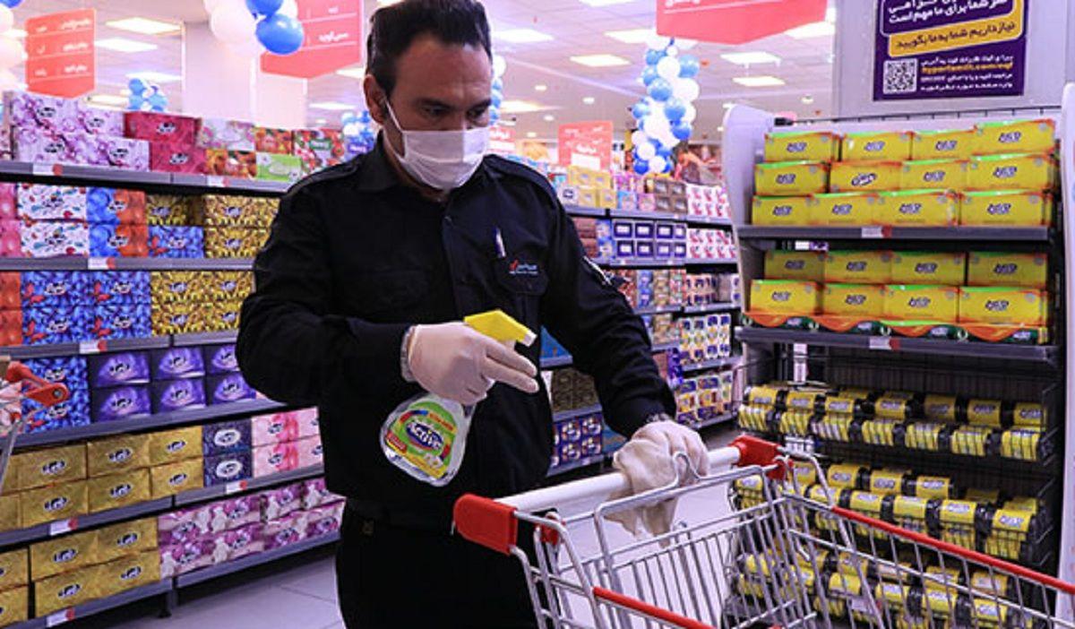 احتمال ابتلا به کرونا از سطوح سوپر مارکت ها چقدر است؟
