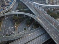 تصاویری از خیابانهای خالی ووهان چین
