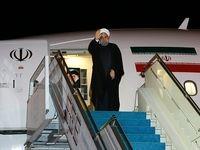رییس جمهور به تهران بازگشت