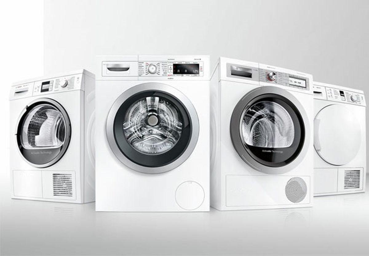رشد تولید ماشین لباسشویی