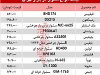 قیمت انواع سشوار در بازار تهران؟ +جدول