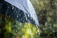 رگبار باران گاهی همراه با رعد و برق در مرکز و نیمه غربی کشور
