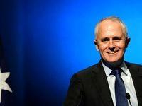 پرتاب تخم مرغ به سمت نخست وزیر استرالیا +فیلم