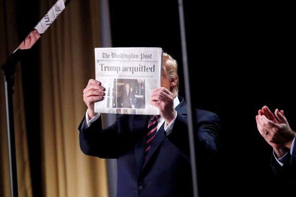 سند تبرئه ترامپ +عکس