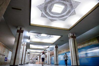 متروی دیدنی و تاریخی تاشکند