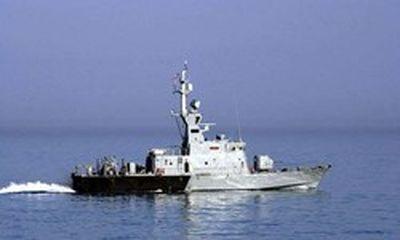 ناوچه جنگی کویت در خلیج فارس غرق شد