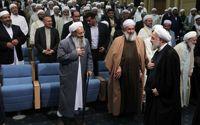 دیدار رئیس جمهوری با علماء و فرهیختگان اهل سنت +تصاویر