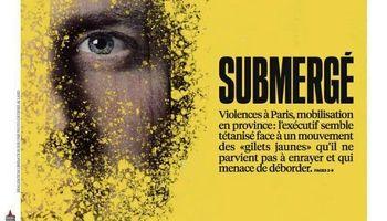 غرق شده؛ جلد امروز روزنامه فرانسوی لیبراسیون +عکس
