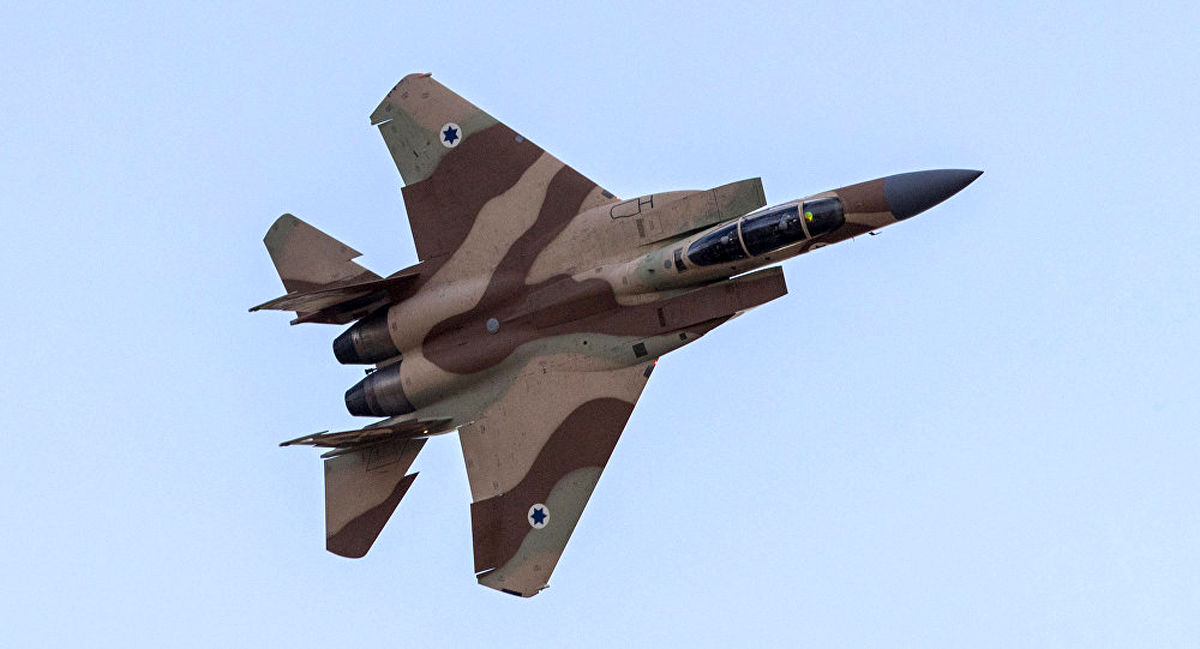 حمله هوایی اسرائیل به سوریه