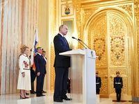 مراسم تحلیف پوتین +فیلم