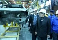 بازدید وزیر صنعت ازخط تولید پژو ۲۰۰۸  +تصاویر