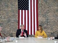 سفر غیرمنتظره ترامپ به عراق +تصاویر