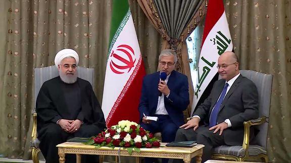 ایران همواره خواستار عراقی امن و توسعهیافته است/ استفاده از پولهای ملی، تجارت ما را از ارزهای خارجی بینیاز میکند