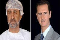 اولین پیام سلطان جدید عمان به بشار اسد