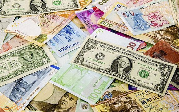 نرخ رسمی یورو و ۱۲ ارز دیگر کاهش یافت