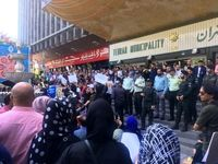 تجمع در مقابل شهرداری در اعتراض به سگکشی/ حناچی: فیلمها جدید نیست
