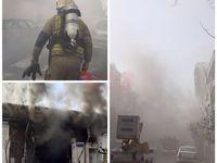 توضیح درباره دود مشکوک در میدان فاطمی
