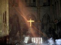 نگاهی به داخل کلیسای نوتردام پس از آتشسوزی +تصاویر