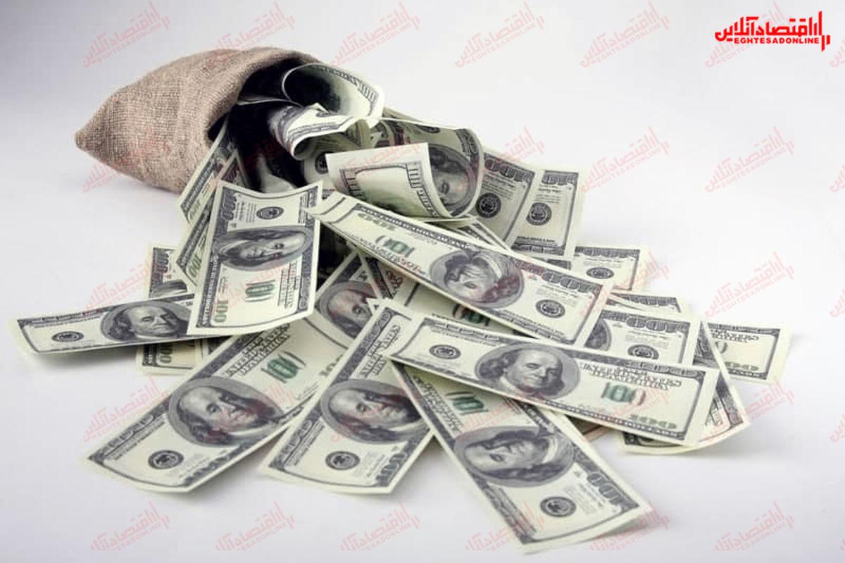 دلار در بازار آزاد ۲۲۰۵۰تومان