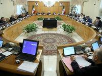 سوگند اعضای هیات دولت دوازدهم در اولین جلسه کابینه