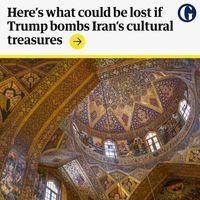 مقصود ترامپ از هدف قرار دادن اماکن فرهنگی ایران کجاست؟