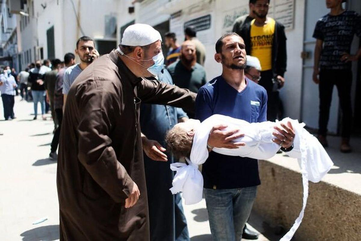 شمار شهدای غزه به ۲۱۲ تن رسید