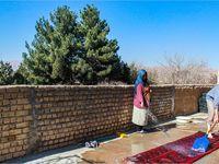 خانه تکانی عید به روایت تصویر