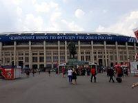 مسکو چند ساعت مانده به فینال جام جهانی +تصاویر