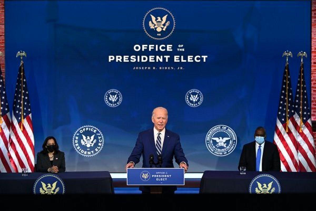 بایدن وزیر دفاع خود را رسما معرفی کرد