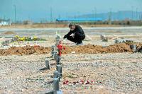مرگ «فاصلهگذاری اجتماعی» در آرامستان پایتخت