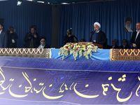 روحانی:در روزهای آتی ماهواره پیام به فضا پرتاب میشود/ ٧هزار میلیارد تومان برای رفع فقر مطلق درسال98 در نظر گرفته ایم