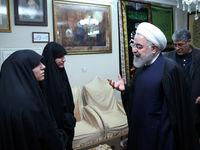 سوال دختر سردار شهید سلیمانی از روحانی +فیلم