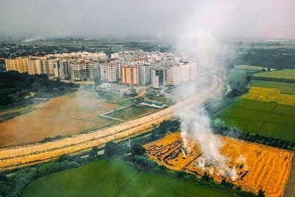 مسکن مهر ساری در هاله دود آلود مشکلات +تصاویر