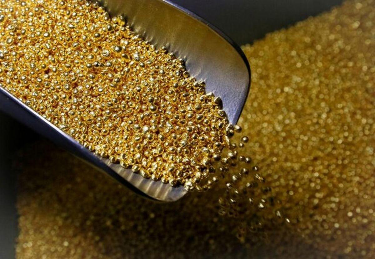 طلا گران می شود + نمودار