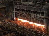 کارخانه تولید فولاد به روایت تصویر