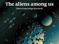ویروسهایی که به دنیا شکل میدهند روی جلد اکونومیست