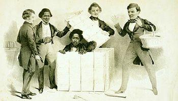 ماجرای فرار یک سیاهپوست از برده داری با کمک جعبه حمل بار
