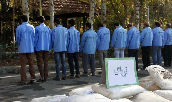 اعزام محکومان مواد مخدر به اردوگاه های سخت