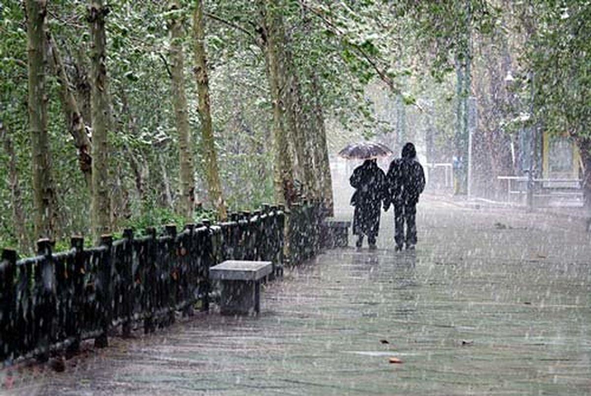 جمعه، بیشتر مناطق کشور بارانی است