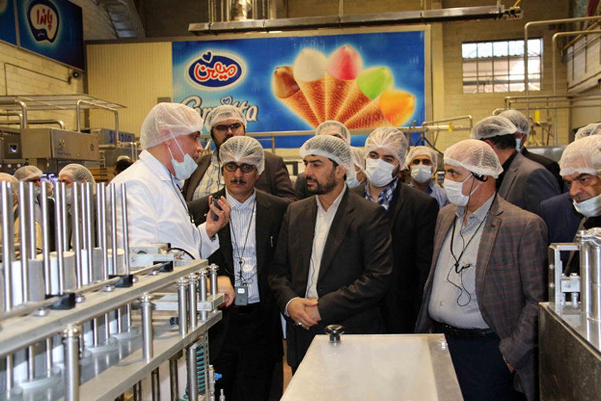 سرپرست وزارت صمت از کارخانجات گروه صنعتی میهن بازدید کرد