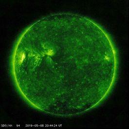 تصاویر متفاوت از خورشید