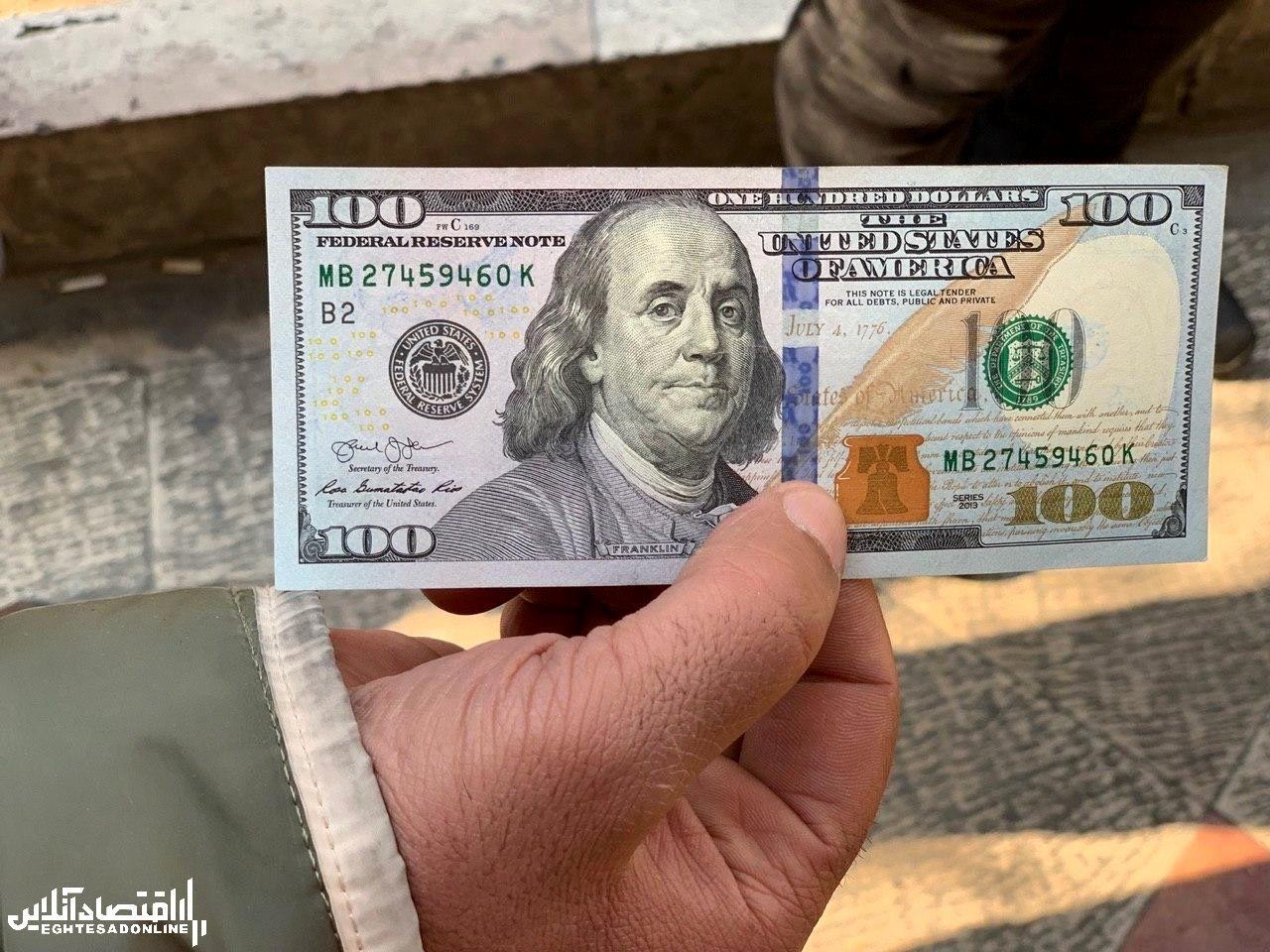 گالری دلار بازار ارز 17 دی 1398