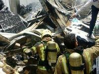 قربانیان آتشسوزی در بزرگراه اشرفی اصفهانی تهران به ۳تن رسید
