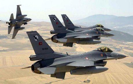تجاوز جنگندههای ترکیه به شمال عراق
