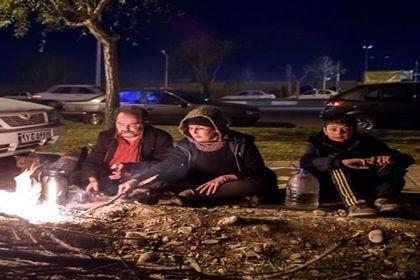 ملارد، سه شب بعد از زلزله +تصاویر