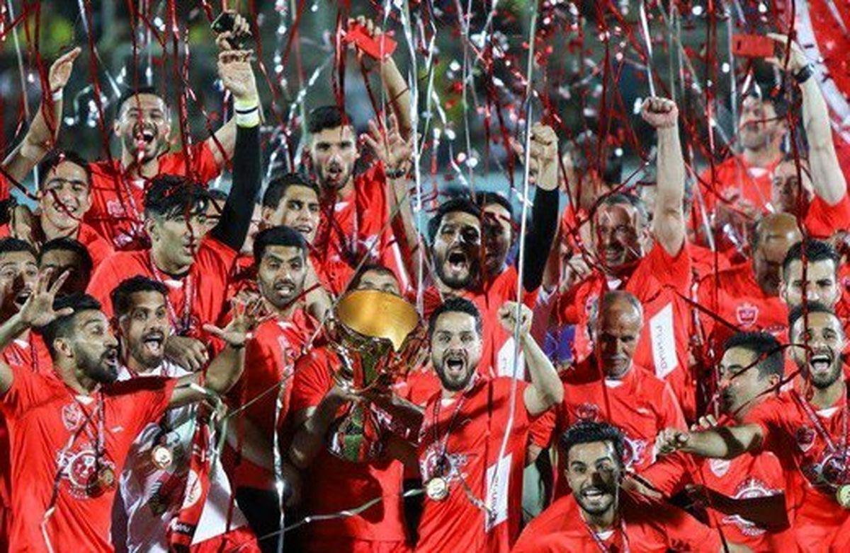 تبریک رئیس فیفا به باشگاه پرسپولیس برای سومین قهرمانی در لیگ برتر
