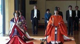 امپراتور جدید ژاپن رسما تاجگذاری کرد +فیلم