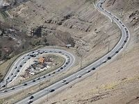 ترافیک سنگین در مسیر تهران- هراز