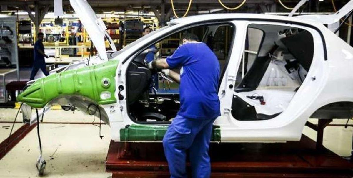 ۱۴ درصد؛ تورم صنعت خودرو